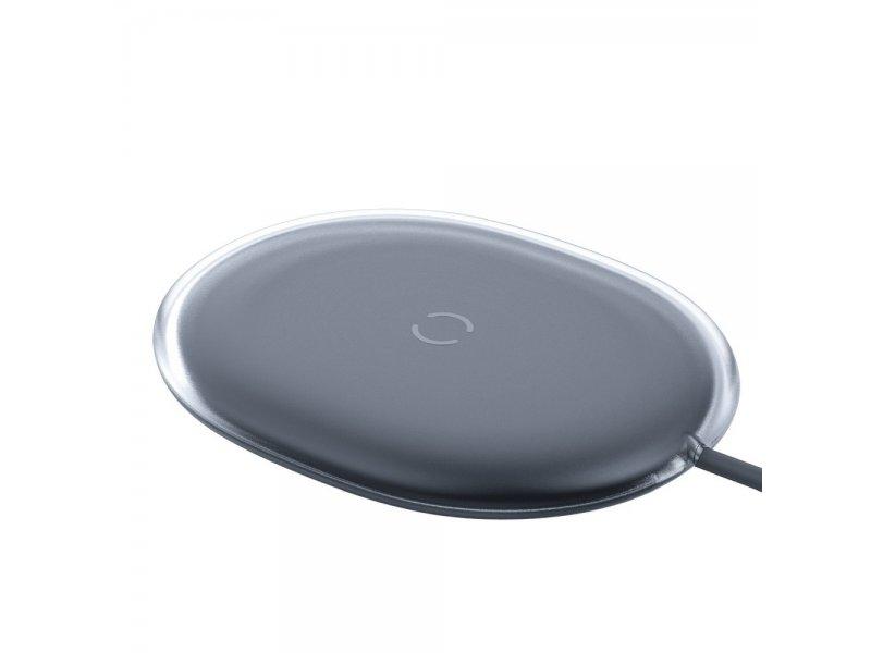 Baseus ładowarka bezprzewodowa/indukcyjna Jelly Qi 15 W czarny WXGD-01