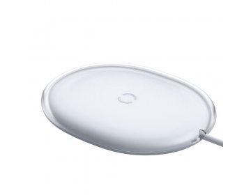Baseus ładowarka bezprzewodowa/indukcyjna Jelly Qi 15 W biały WXGD-02