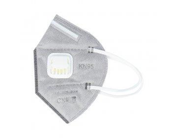 Maska ochronna na twarz FFP2 KN95 składana z filtrem