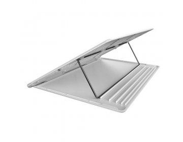 Baseus podkładka/podstawka pod laptop Mesh biało-szara SUDD-2G