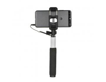 Remax zestaw/uchwyt do selfie Remax P5 jack 3,5mm różowy