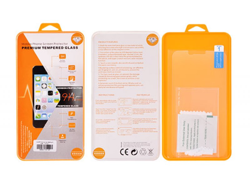 """Hartowane szkło Orange iPhone 6 /6S 4,7\"""" PRZÓD+TYŁ"""