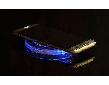 Ładowarka Indukcyjna bezprzewodowa QI uniwersalna ENTERPRISE LED czarny min.2A
