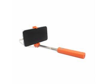 Remax Uchwyt selfie mini XT-P02 przewodowy lightning Pomarańczowy