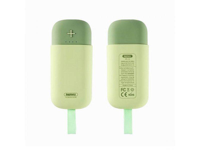 Remax power bank Camaroon 5000mAh RPL-32 zielony