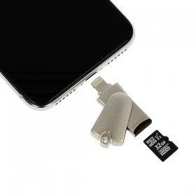 Czytnik kart micro SD > Lightning Iphone/Ipad