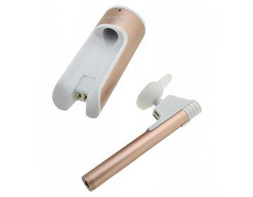 Awei Słuchawka bluetooth > A835BL z uchwytem oraz power bankiem Jasnoróżowa