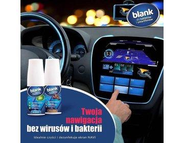 Blank Antybakteryjny płyn czyszczący tabletów i smartfonów zapach Men