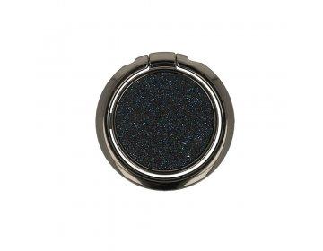 Ring GLITTER czarny