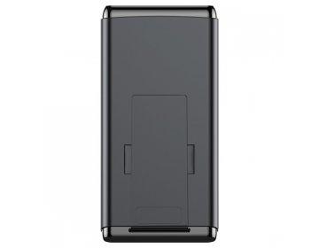 Baseus power bank 10000mAh z indukcyjnym ładowaniem USB + Typ C PD QC 3.0 WXHSD-D01 czarny