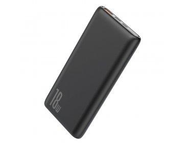 Baseus power bank 10000mAh Bipow USB + Typ C PD 3.0 QC 3.0 18W PPDML-01 czarny
