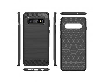 Back Case CARBON do iPhone 12 PRO MAX czarny